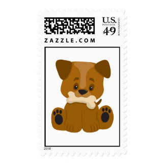 Puppy Big Paws Sitting Stamps