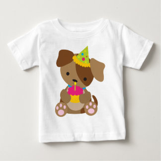 Puppy Birthday Baby T-Shirt