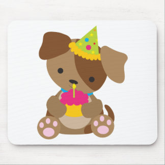 Puppy Birthday Mouse Pad