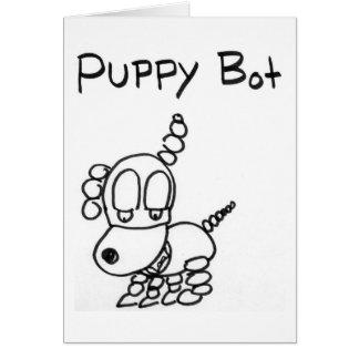 Puppy Bot Card
