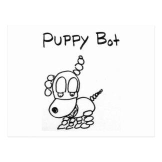 Puppy Bot Postcard