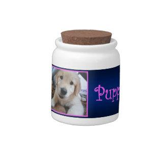 """""""Puppy Breath"""" Candy Jar"""
