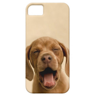 """""""Puppy Breath"""" Chocolate Lab Puppy iPhone Case iPhone 5 Cover"""