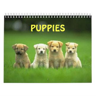 puppy calender wall calendar