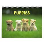 puppy calender calendar
