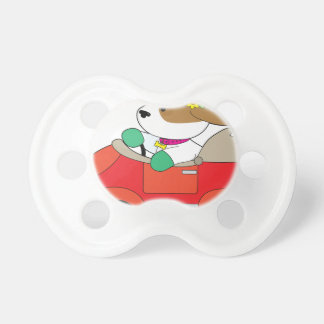 Puppy Car Pacifier