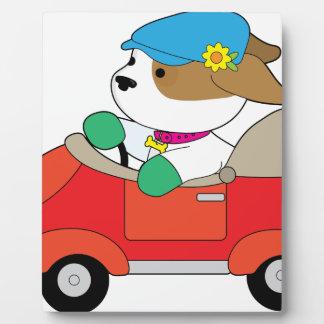 Puppy Car Plaque