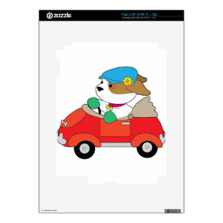 Puppy Car Skin For The iPad 2