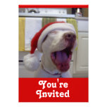 Puppy Christmas Invitation