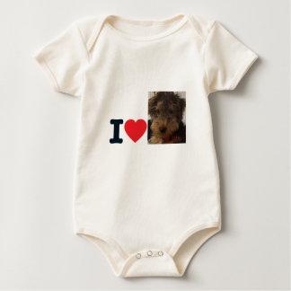 puppy chulo baby bodysuit