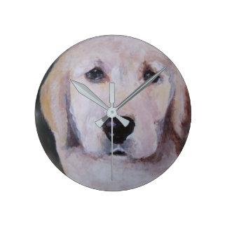 Puppy Clock Labrador