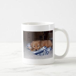 puppy coffee mug