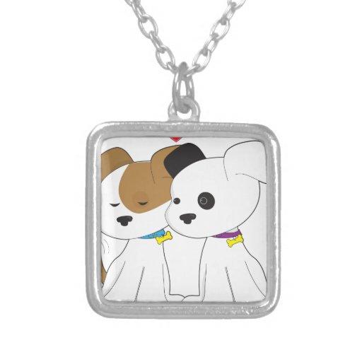 Puppy Couple Pendants