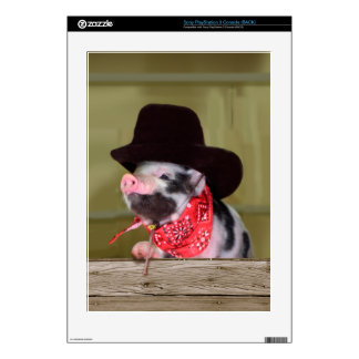 Puppy Cowboy Baby Piglet Farm Animals Babies PS3 Decal