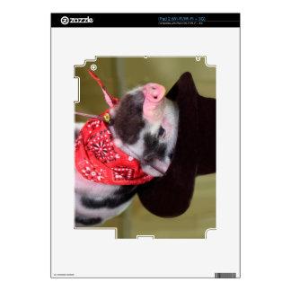 Puppy Cowboy Baby Piglet Farm Animals Babies Skin For iPad 2
