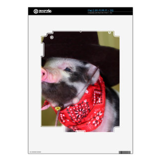 puppy Cowboy Baby Piglet Farm Animals Babies Skins For The iPad 2