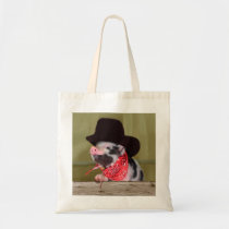 Puppy Cowboy Baby Piglet Farm Animals Babies Tote Bag