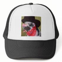 puppy Cowboy Piglet Farm Animals Trucker Hat