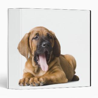 Puppy Dog 2 Vinyl Binder