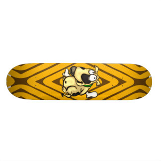 Puppy Dog and Bone Skateboard