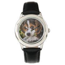 Puppy Dog Beagle Wrist Watch