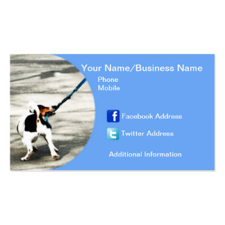 Puppy Dog Business Card
