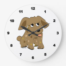 Puppy Dog Clock