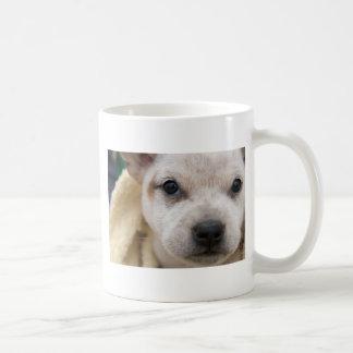 Puppy Dog eyes. Classic mug with puppy on it.