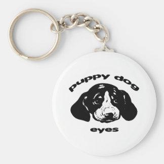 Puppy Dog Eyes Keychain