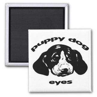 Puppy Dog Eyes Magnet