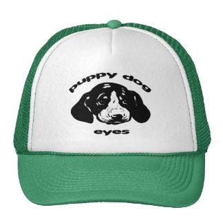 Puppy Dog Eyes Trucker Hat