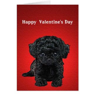 Puppy Dog Eyes Valentine's Day Card