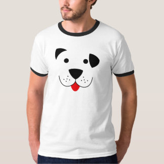 puppy dog face shirt