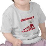 Puppy Dog Grandma's Valentine T-shirts