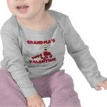 Puppy Dog Grandma's Valentine T Shirts
