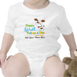 Puppy Dog Happy First Father's Day Bodysuits