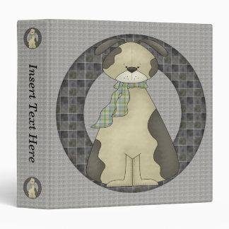 Puppy Dog III Avery Binder