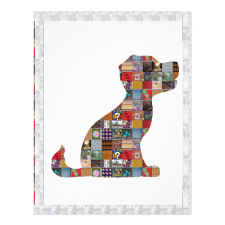 PUPPY Dog KIDS love CRYSTAL Stone Jewel NVN476 fun Letterhead