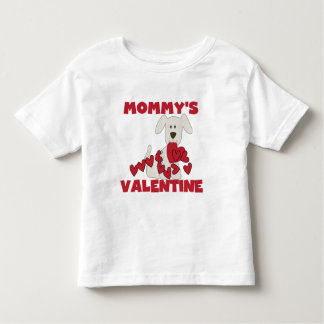 Puppy Dog Mommy's Valentine Toddler T-shirt