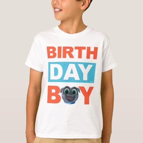 Puppy Dog Pals Bingo Birthday Boy T_Shirt