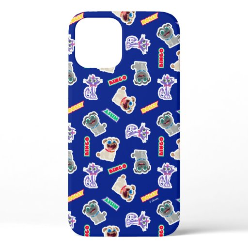 Puppy Dog Pals Blue Character Pattern iPhone 12 Case