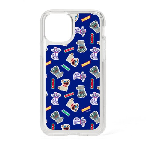 Puppy Dog Pals Blue Character Pattern Speck iPhone 11 Pro Case
