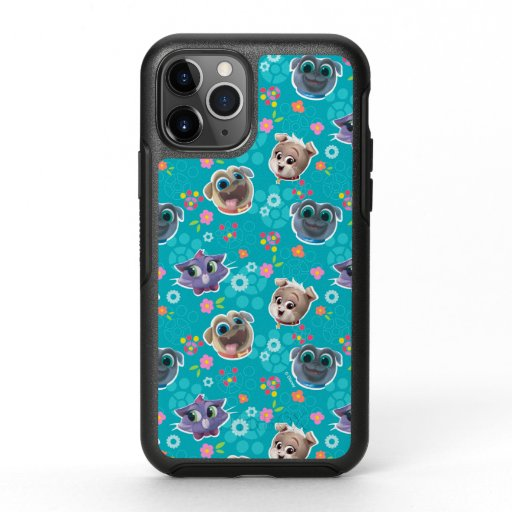 Puppy Dog Pals | Floral Pattern OtterBox Symmetry iPhone 11 Pro Case