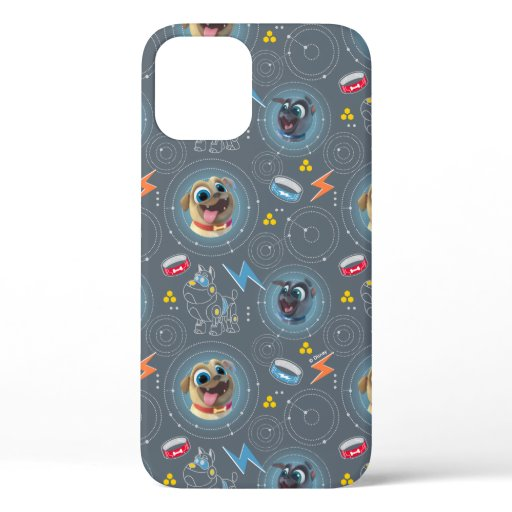 Puppy Dog Pals | Geared for Adventure Pattern iPhone 12 Case