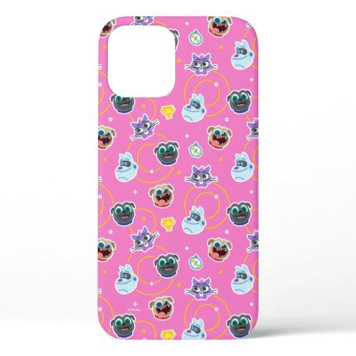 Puppy Dog Pals Pink Pattern iPhone 12 Case