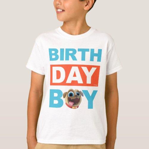 Puppy Dog Pals Rolly Birthday Boy T_Shirt