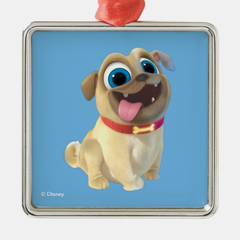 Puppy Dog Pals   Rolly Metal Ornament