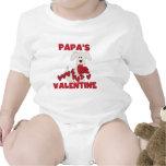 Puppy Dog Papa's Valentine T-shirts