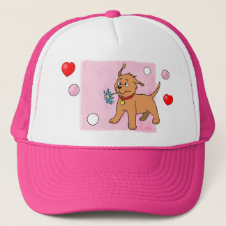 Puppy Dog Pink - Cap
