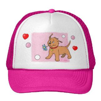 Puppy Dog Pink - Cap Trucker Hat